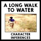 This activity for the novel A Long Walk to Water by Linda Sue Park gets students inferring about two characters, comparing and contrasting, selecti...
