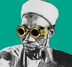 Artist, Williams Chechet is Giving History an Exciting Makeover — TINK Modern Pop Art, Culture, History, Creative, Illustration, Instagram Posts, North Africa, Shades, Style