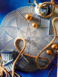 World crochet: Napkin 567