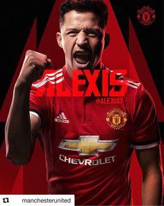 AGORA É OFICIAL 📝📝📝 Manchester United confirma a contratação de Alexis Sanchez   #PremierLeagueSóNaESPN  .  #Alexis7 #MUFC #GGMU #Soccer #manchester #manchesterunited