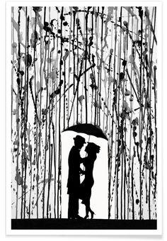Film Noir as Premium Poster by Marc Allante   JUNIQE