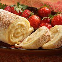 Sabores Italianos, Cocina Italiana, Recetas Italianas, Recipes, Italian Food, Comida Italiana: Bizcocho Enrollado - Postres Italianos