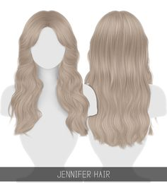 """simpliciaty-cc: """" JENNIFER HAIR + TODDLER & CHILD Long middle part hairstyle with curtain bangs! 💘 (the texture is a bit different than my usual, it's just for this specific hair, hope you don't. The Sims 4 Pc, Sims 4 Teen, Sims Four, Sims 4 Toddler, Sims 4 Cas, Sims Cc, Los Sims 4 Mods, Sims 4 Game Mods, Sims 4 Mods Clothes"""
