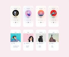 Mix Planet 🎧 (sketch freebie) designed by Michael Korwin. Connect with them on Dribbble; App Ui Design, Mobile App Design, Planet Sketch, Slider Design, Smartphone, Mobile App Ui, Music App, Ui Design Inspiration, Interactive Design