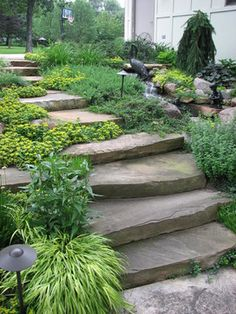 stairs  - traditional - Landscape - Chicago - Runde's Landscape Contractors, Inc.