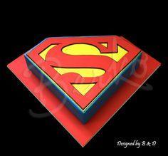 Berko Superman cake