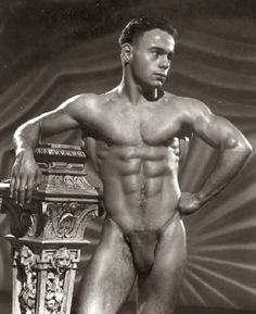 Male of physique the art photography vintage