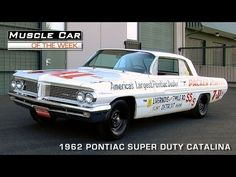 ▶ Muscle Car Of The Week Video Episode #89: 1962 Pontiac Catalina Super Duty Super Stock Video - YouTube