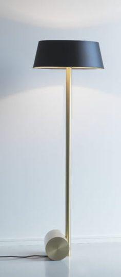 Lampe a poser calee xl laiton led o40cm h41cm cvl normal lampe
