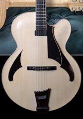 Custom Archtop Guitar Luthier | Doug Harrison