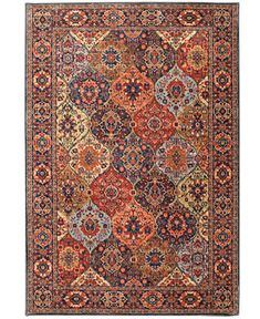 Karastan Spice Market Levant Multi 8' x 11' Area Rug - Rugs - Macy's