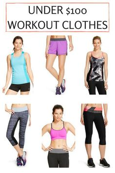 UNDER $100 WORKOUT CLOTHES