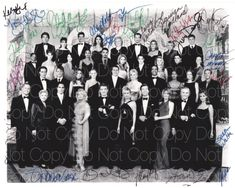 The Young and the Restless signed by 25 8X10 photo picture