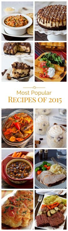 The most popular pressure cooking recipes of 2015