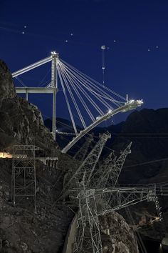 """Arizona Arch Segment"" from Jamey Stillings's 2009 series on the construction of the bridge at the Hoover Dam."