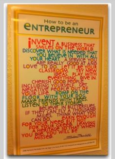 How To Be An Entrepreneur Quotes