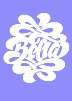 Typeverything.com - 'Bella' lettering by Martina...