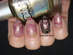 Time to try something new and fun! I wanted to create a nice little sand, blood and glitter mix base for the pretty stamp I got from Bundl. Try Something New, Class Ring, Manicure, Gemstone Rings, Glitter, Nail Art, Sands, Pretty, Jewelry