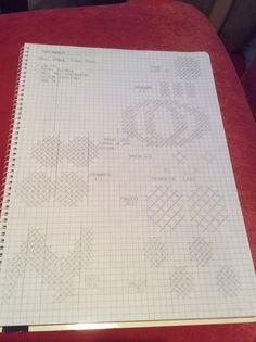 Facebookin ryhmästä Voihan villasukka bongasin sukat, joihin oli neulottu Marimekon kuoseja. Jalostin ideaa, tutkin Marimekon kangasmalleja netistä ja tein ruutupiirustuksia. Tein jopa mallitilkun,… Knitting Projects, Knitting Patterns, Marimekko Fabric, Graph Paper Art, Knit Crochet, Bullet Journal, Tapestry, Personalized Items, Wordpress