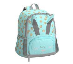 Mackenzie Critter Bunny Backpack | Pottery Barn Kids