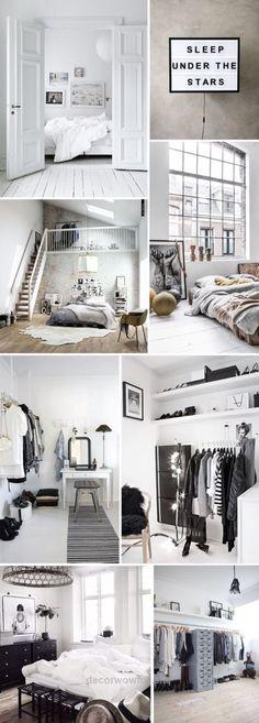 Beautiful Home Decoration Ideas: Beautiful minimalist monochrome interior design inspiration. The post Home Decoration Ideas: Beautiful minimalist monochrome interior design inspirati… appeare ..
