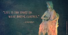 """""""Live is too short to wear boring clothes"""" #fashionquote #quote www.saratiara.com"""