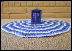 Tardis Amigurumi, Police Box Plushie, Doctor Who Stuffie