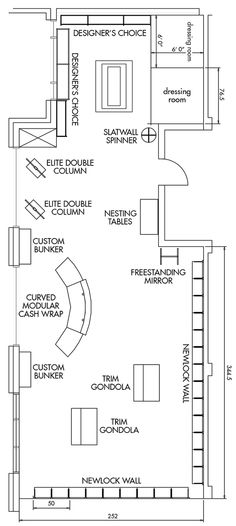 Retail Store Design Layout | Telephone: 800-233-9663 or 541-688-0907 / fax: 541-688-5868