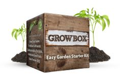 GrowBox, a garden in a box. Packaging by SmashBrand.