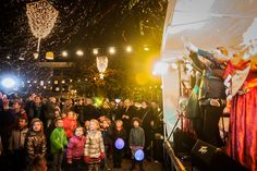 Opening night Sassenstraat Allicht 1st of November 2013 - Confetti and laughter put on the lights!  Photo: Jarno Kraayvanger  Become a fan: https://www.facebook.com/SassenstraatZwolle