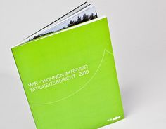 """Check out this @Behance project: """"WIR Wohnen im Revier – Reporting"""" https://www.behance.net/gallery/11112399/WIR-Wohnen-im-Revier-Reporting"""