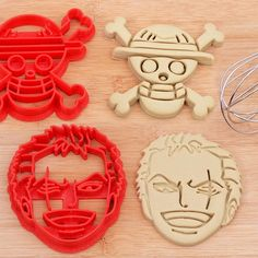 One Piece Cookie Cutters #onepiece #luffy #anime #merchandise #animemerch #animemerchandise