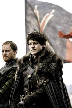 """Iwan Rheon as Ramsay Bolton, with Paul Rattray as Harald Karstark. Game of Thrones Season Episode 9 """"Battle of The Bastards"""" Harald Karstark wants revenge for his father's beheading by Robb Stark, Movies And Series, Hbo Series, Best Series, Rory Mccann, Liam Cunningham, Game Of Thrones Series, Game Of Thrones Fans, Winter Is Here, Winter Is Coming"""