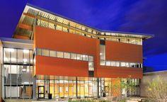 Nichiha USA, Inc. - Fiber Cement Building Products. Facade of Redhawk Elementary School.