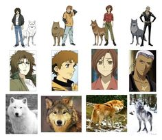 """""""Wolfs Rain"""" by hige-patterson ❤ liked on Polyvore"""