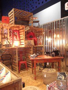 Feria Decoestylo México 2014. Stand Unik Furniture Vintage