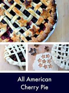 All American Cherry Pie - Get the Recipe