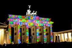 Festival of Lights Berlin Brandenburger Tor