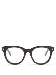 Stella McCartney D-frame acetate glasses