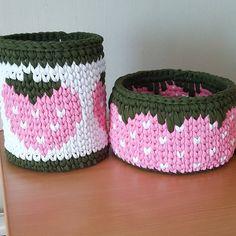 Tapestry Bag, Tapestry Crochet, Crochet Home Decor, Crochet Crafts, Crochet Bowl, Knit Crochet, Yarn Projects, Crochet Projects, Crochet Organizer