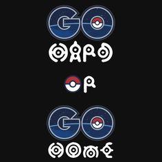 Pokemon Go Hard or Pokemon Go Home - Redbubble T-shirt  #PokemonGo