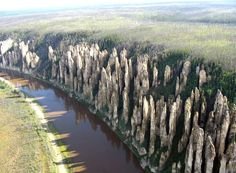Lena Pillars  An Amazing And Remote Geological Wonder  Lazer Horse