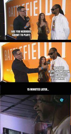 Snoop Dogg's 'secret' weapon