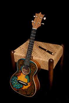 Creative Marketing Tip 16 - Be innovative! While hand painted instruments are not our usual style, each one has been a cool project and has brought interesting attention