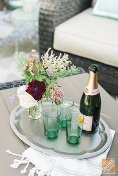 Get your patio ready for outdoor entertaining. Blogger Caitlin Moran has some great ideas for you on The Home Depot Blog.