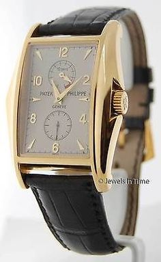 Patek Philippe Gondolo 5100 18K Yellow Gold Mens Watch