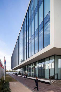 Gottesman-Szmelcman Architecture, Amit Geron · Interdisciplinary Center (IDC) Herzliya Psychology Building