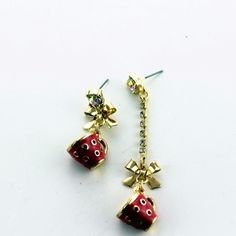 """Find More Stud Earrings Information about Fashion stud earrings 2014 New fashion and pure and fresh quietly elegant contracted pink  earrings length 120814 cups,High Quality earrings brown,China earings Suppliers, Cheap earring parts from The original """"decorated"""" You on Aliexpress.com"""