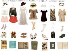 """Valerie's Week of Wonders"" by teacupchild ❤ liked on Polyvore"