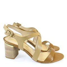 Sandália Natural 6984 Tabita | Moselle sapatos finos femininos! Moselle sua boutique online.